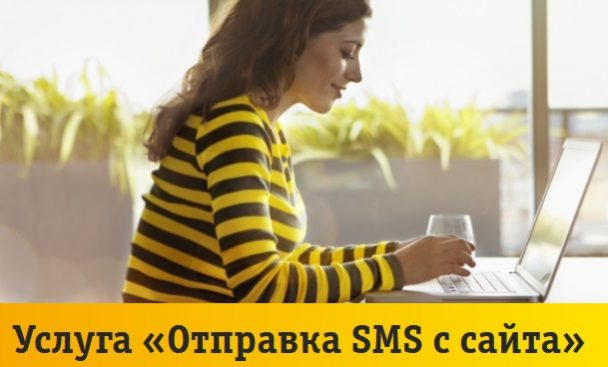 Как написать СМС через интернет на номер Билайн