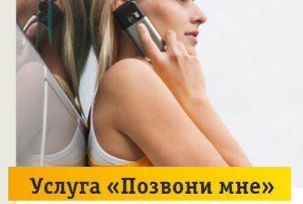 Как отправить запрос «Перезвони мне» на Билайне